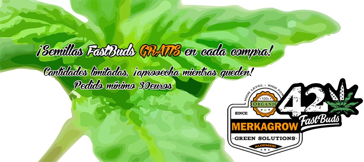 Semillas FastBuds Gratis en cada compra online - Merkagrow.com.